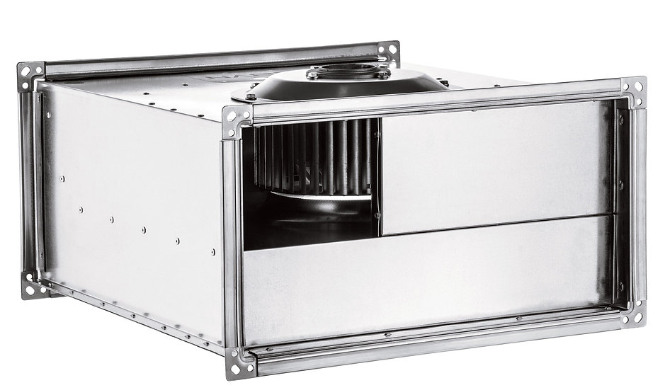 AC RECTANGULAR IN LINE DUCT FANS FORWARD CURVED