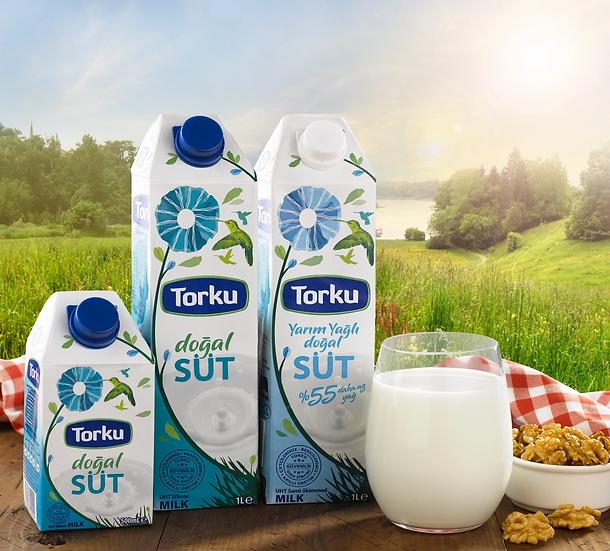الحليب التركي المعلب