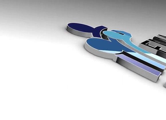 تصميم إنترو ثلاثي الأبعاد V2