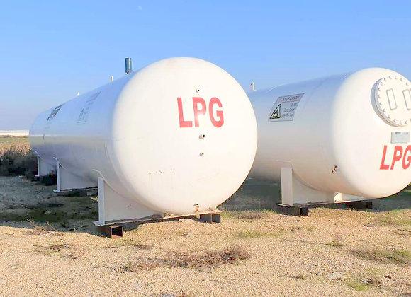 LPG Storage Tank 30m3 / 15 tons