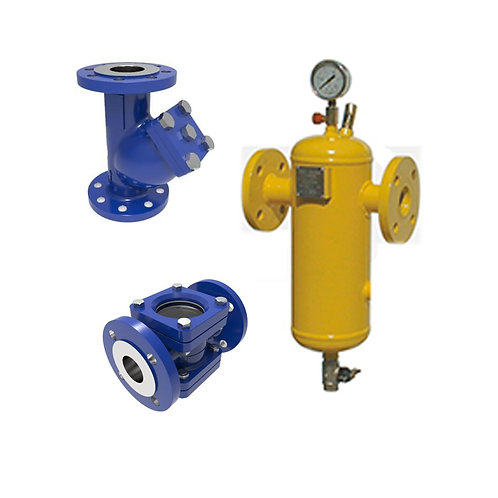 """LPG TRAPS, STRAINERS """"FILTERS"""" AND FLOW INDICATORS"""