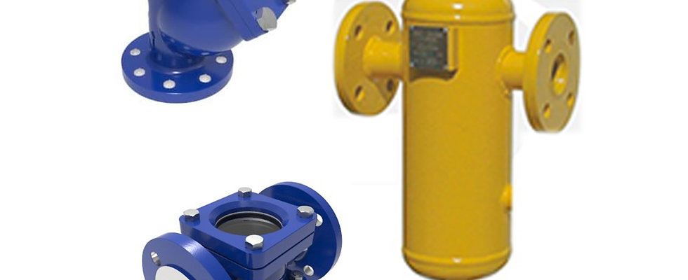 "LPG TRAPS, STRAINERS ""FILTERS"" AND FLOW INDICATORS"
