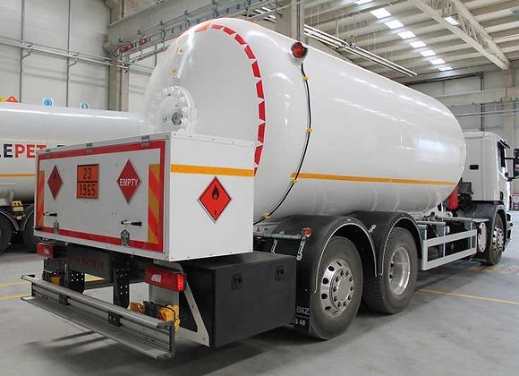 CNG Bobtail Tankers