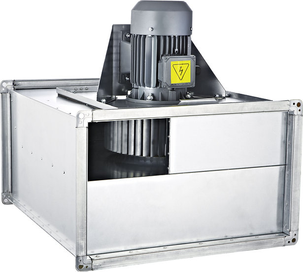 AC DIRECT DRIVE RECTANGULAR IN LINE DUCT FANS FORWARD CURVED