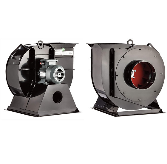 AC LOW PRESSURE CENTRIFUGAL FANS BACKWARD CURVED, LARGE BLADE