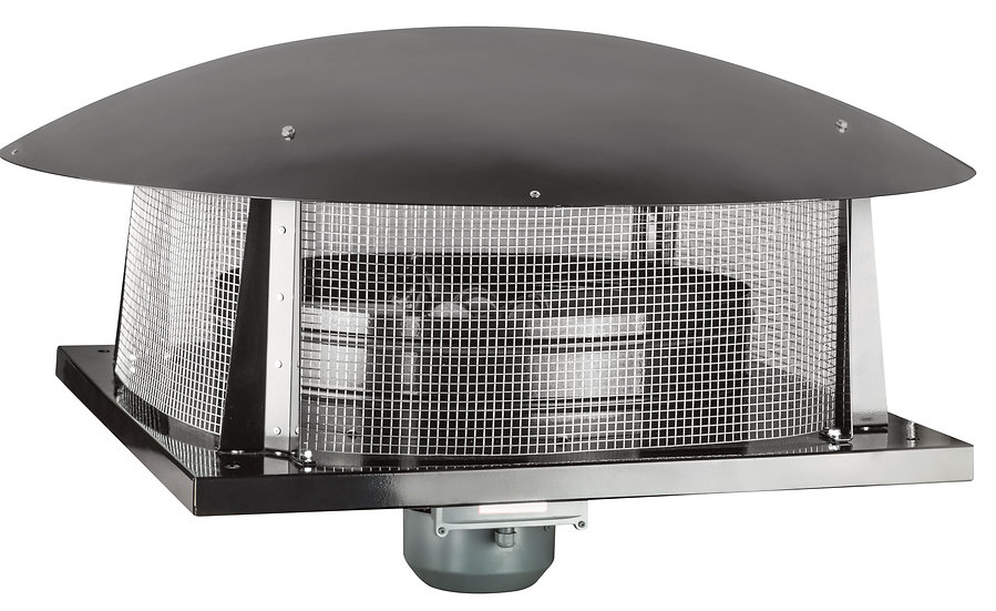 AC AXIAL ROOF FANS HORİZONTAL OUTLET