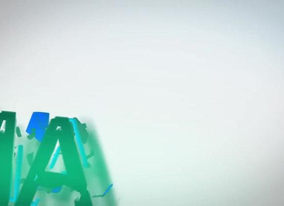 تصميم إنترو ثلاثي الأبعاد V24