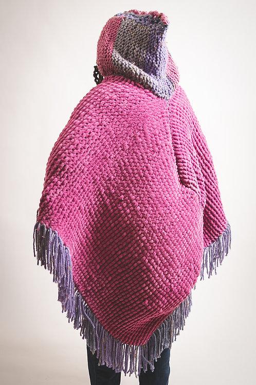 knitwear poncho