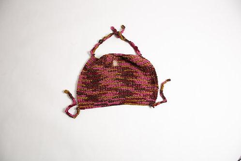knitwear halter top