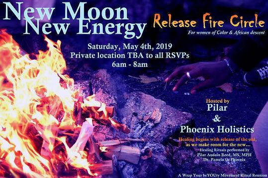 New Moon New Energy  2019