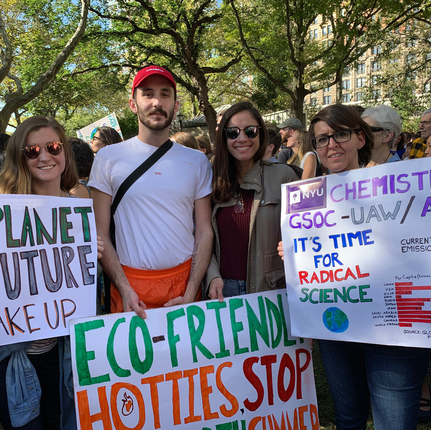 NYU Climate March