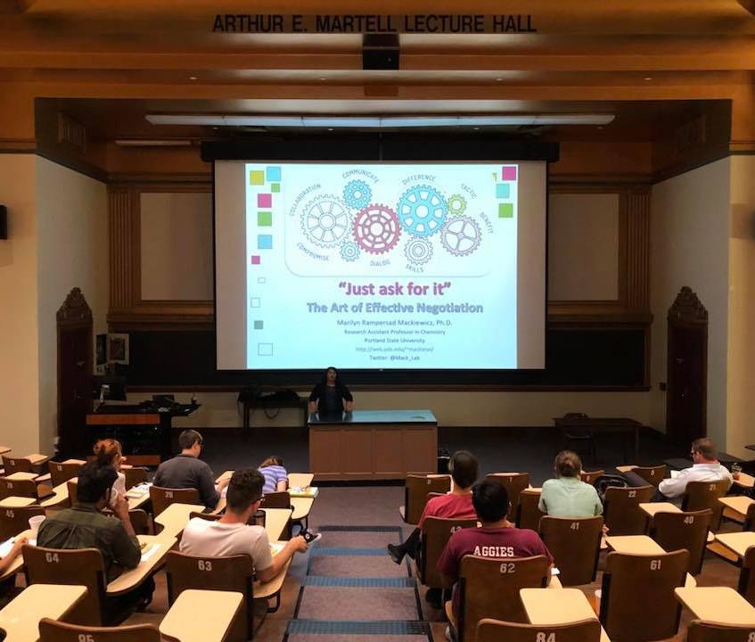 Professional development lecture