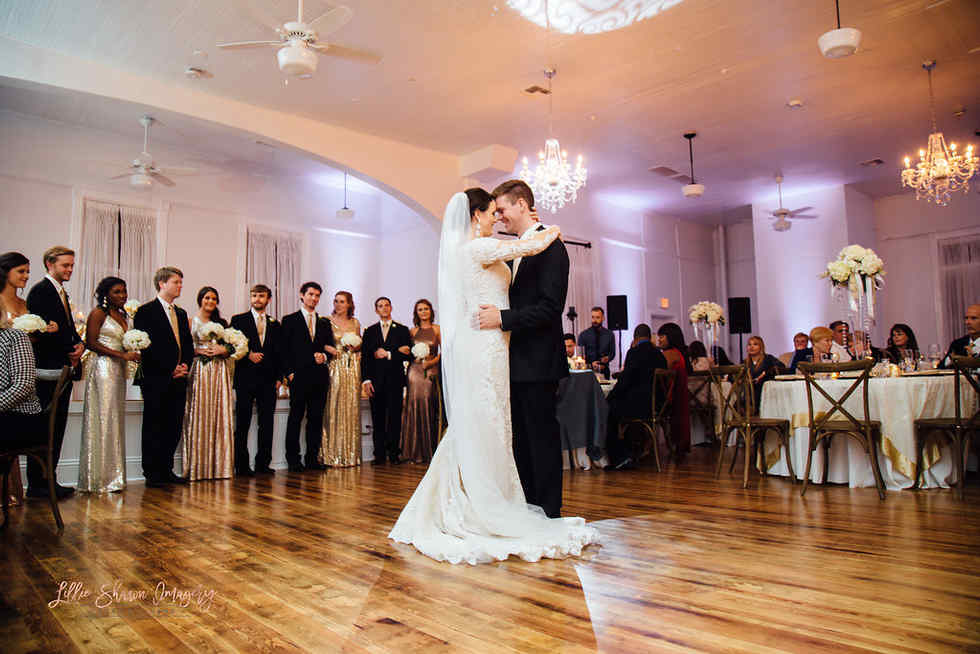 Formal Wedding with Old Florida Charm