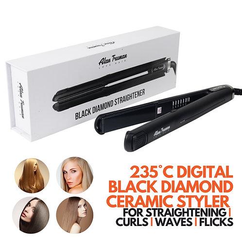 Black Diamond Ceramic Straightener