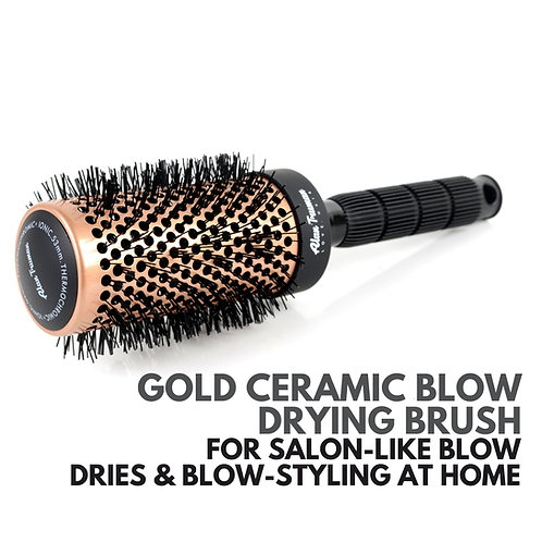 Gold Ceramic Blow-drying Brush - Medium (45mm)