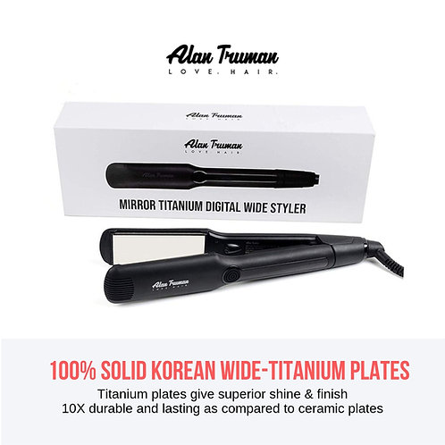 Professional Titanium Wide Straightener