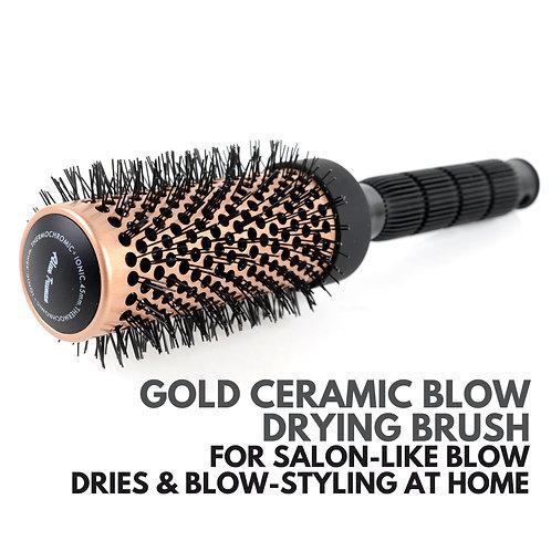 Gold Ceramic Blow-drying Brush - Small (32mm)