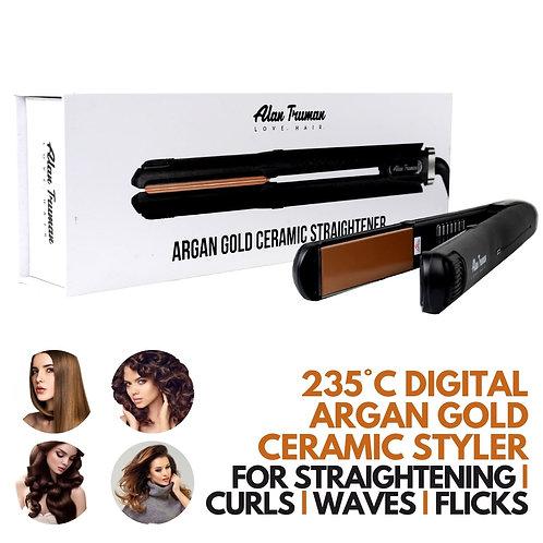 Professional Argan Gold Ceramic Straightener