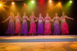 Oriental ballet revue cabaret Dijon