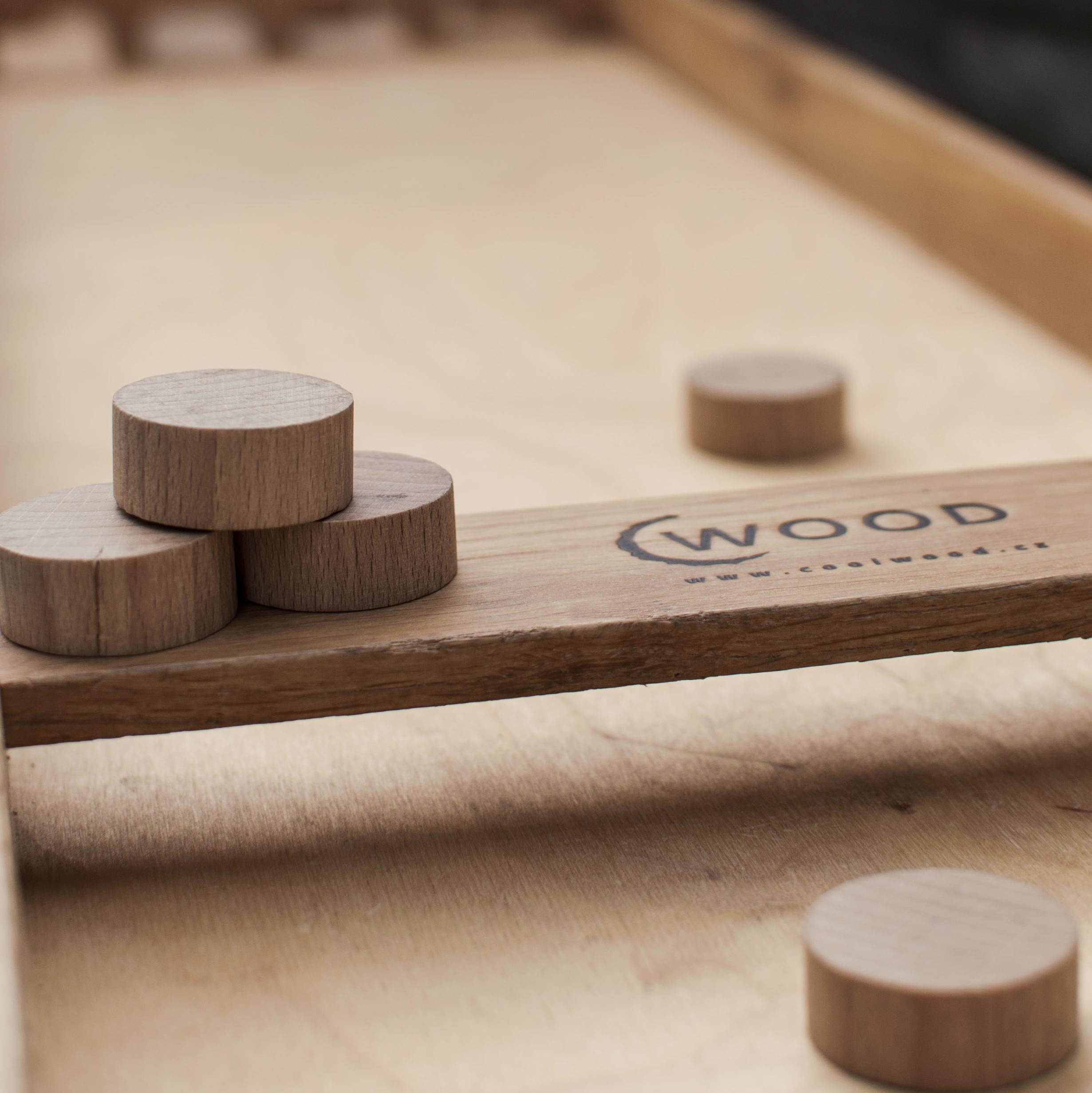 dřevěné hry Cool Wood
