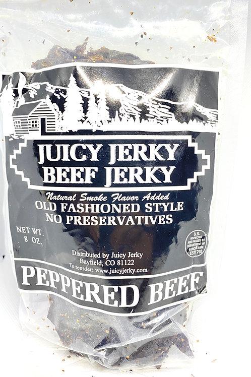 Juicy Jerky (Peppered Beef)