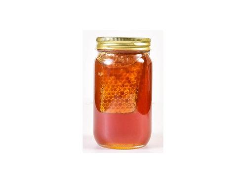 WildFlower Raw Honey with Honeycomb