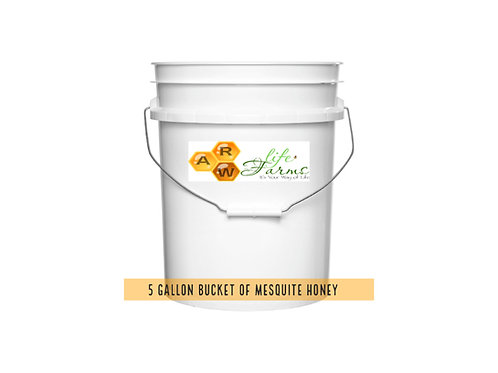 5 Gallon Mesquite Honey (this item is not available for shipping)