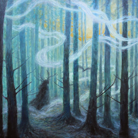 Vilsesökande, ur serien Rötter (Lost to Find, from the series Roots)