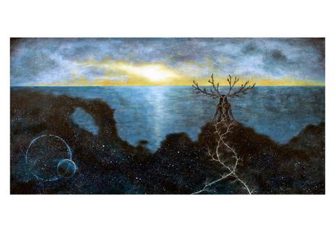 Rötter, kreationens strand