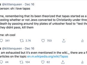 How a Tweet about Tapas Got Me Nazi Death Threats