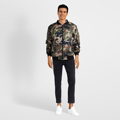 Bomber Camouflage Pattern