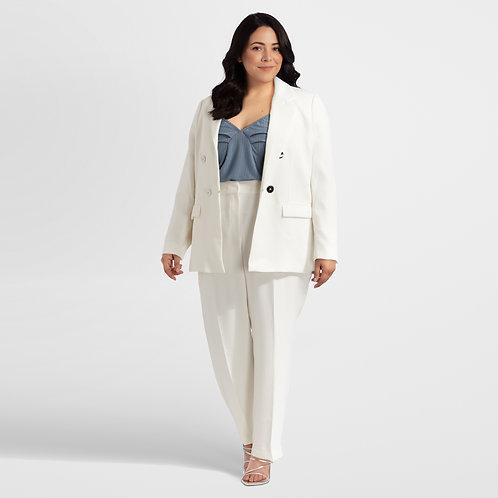 White Suit Blazer