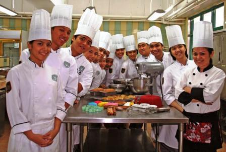 Culinary Arts Students in De La Salle - College of Saint Benilde
