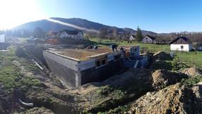 stavba RD Oldřichovice pokračuje