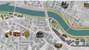 """Náš soutěžní návrh """"Revitalizace nábřeží řeky Moravy"""" (Uherské Hradiště) dostal zvláštní ocenění (od"""