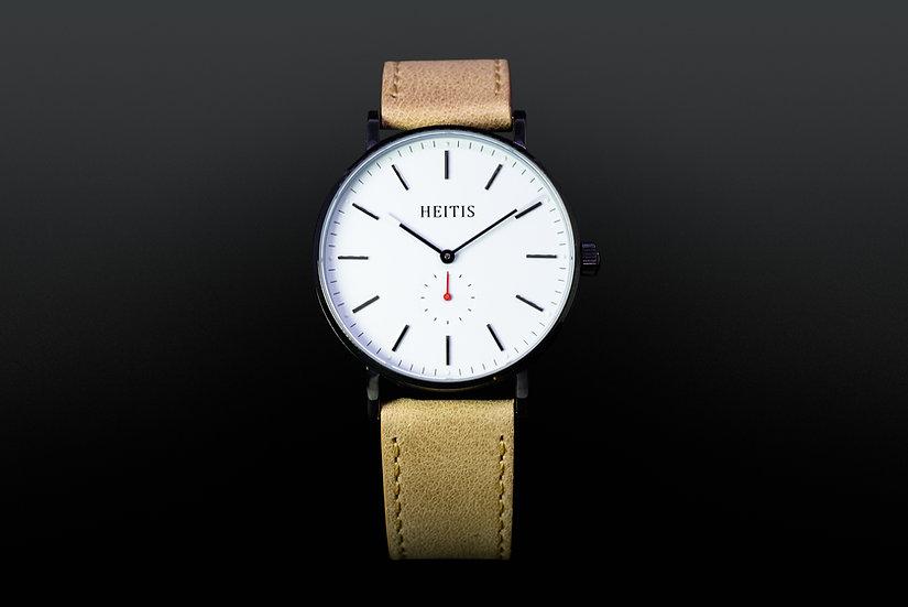 Heitis Classic PVD Black White Dial