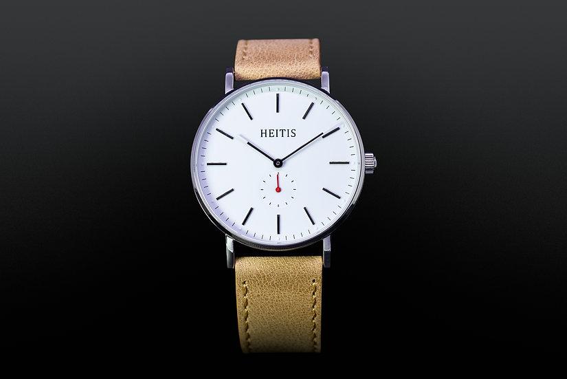 Heitis Classic Silver White Dial