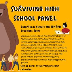 Surviving High School Panel