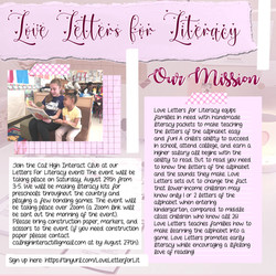 Love Letters for Literacy