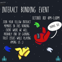 Interact Bonding Event Oct 3_