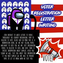 Voter Registration Letter Writing