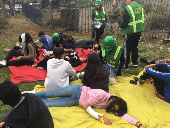 CERT Drill Victims 2019