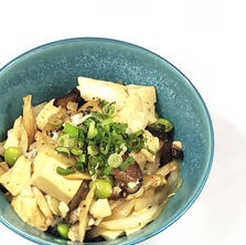 Tofu & Mushroom Donburi