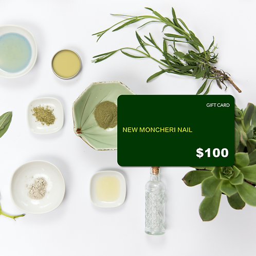 New Moncheri Nail Gift Card