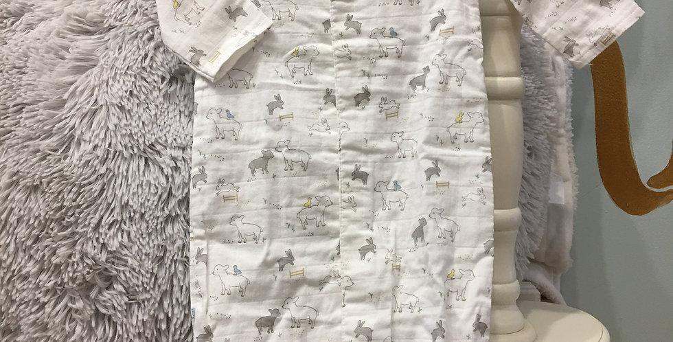 Lamb Convertible Gown