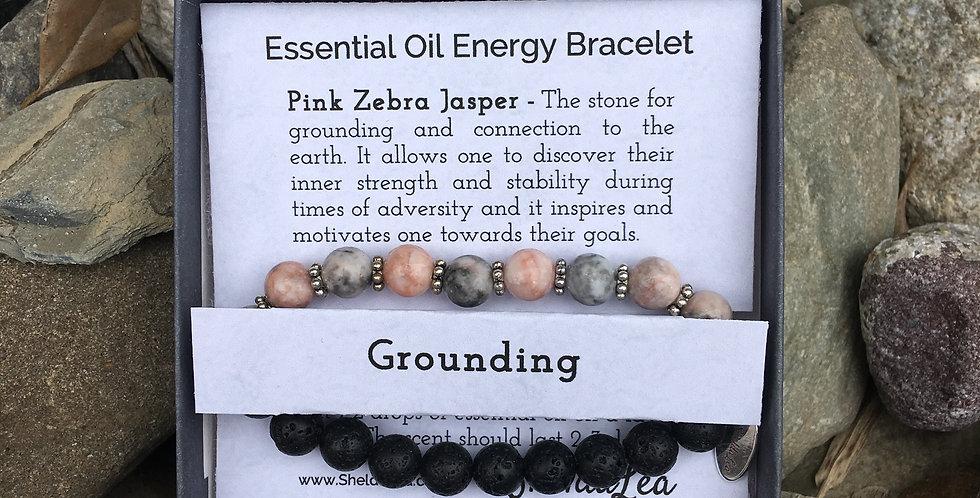 Grounding Esstential Oil Bracelets