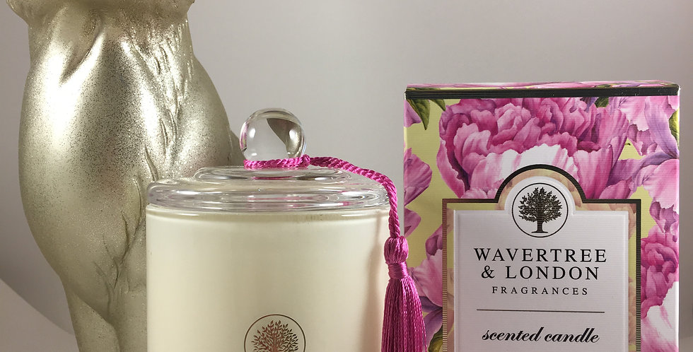 Pink Peony Scented Candle
