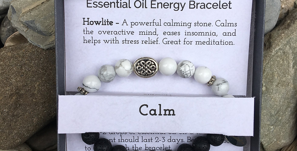 Calm Essential Oil Bracelet