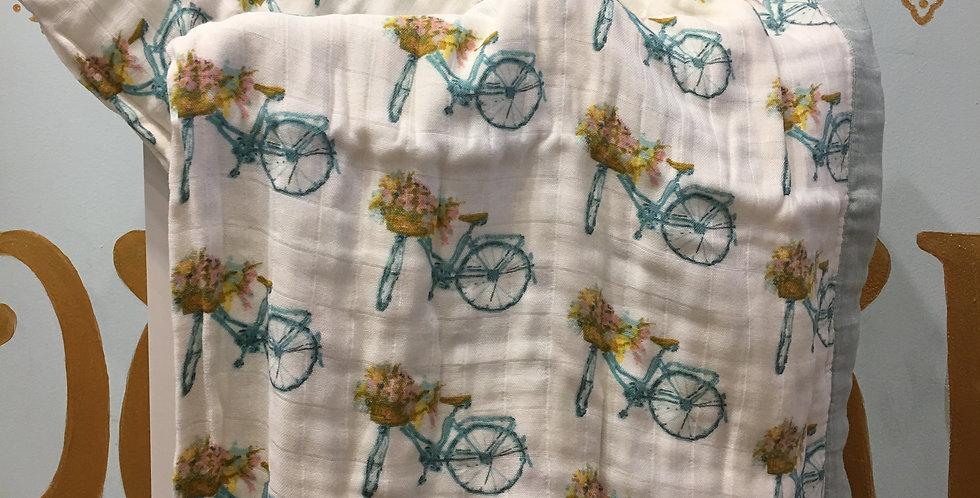 Floral Bicycle Blanket