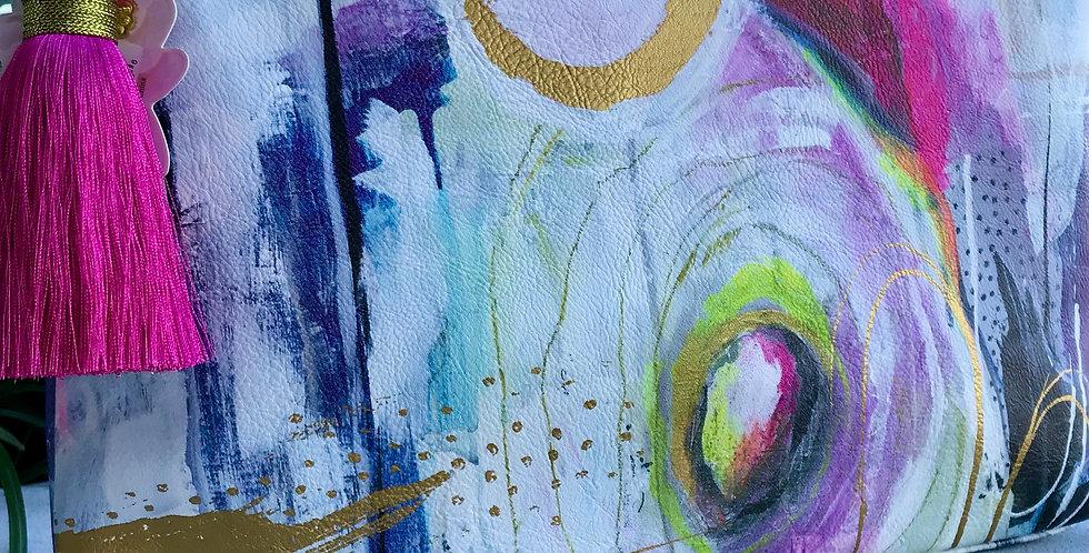 Watercolor Large Pouch
